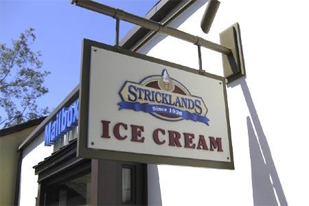 THIS RESTAURANT IS CLOSED Strickland's, Irvine, CA
