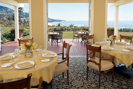 Dining Room at Studio, Laguna Beach, CA