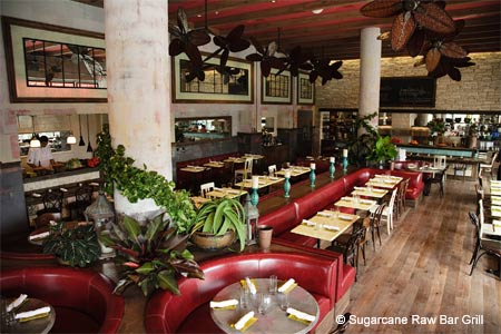 Dining Room at Sugarcane Raw Bar Grill, Miami, FL