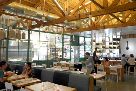 Dining room at Superba Food + Bread, Venice, CA