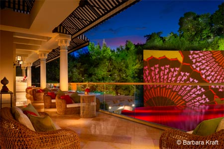 SW Veranda is a casual outdoor terrace located above SW Steakhouse