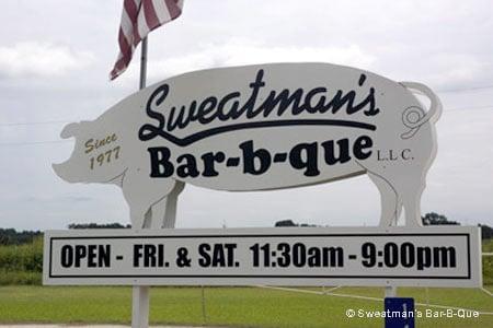 Sweatman's Bar-B-Que, Holly Hill, SC