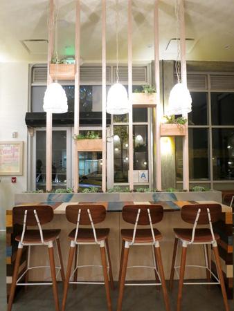 Dining Room at Sweetfin Poké, Santa Monica, CA