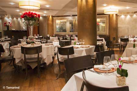 Dining Room at Tamarind, London,