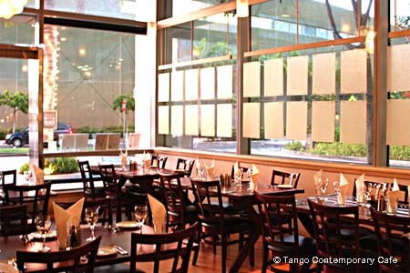 Dining Room at Tango Contemporary Cafe, Honolulu, HI