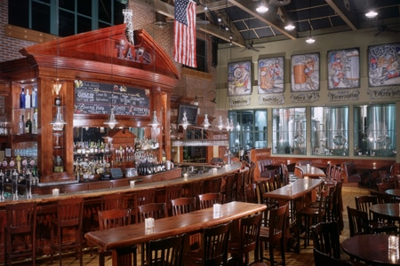 Dining Room at TAPS Fish House & Brewery, Brea, CA
