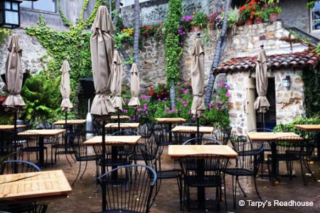 Tarpy's Roadhouse is one of GAYOT's Best Outdoor Dining Restaurants in Monterey, California