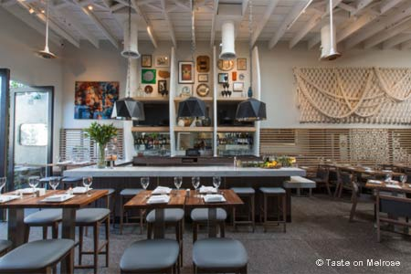 Enjoy a dinner at an affordable price at Taste in West Hollywood