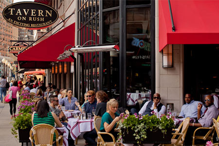 Outdoor Dining at Tavern on Rush