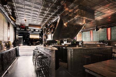 Dining Room at The Ten Bells, New York, NY