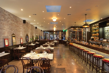 Dining Room at Terrine, Los Angeles, CA