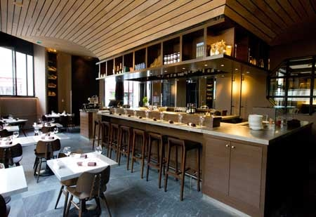 Dining Room at Terroir Parisien, Paris,