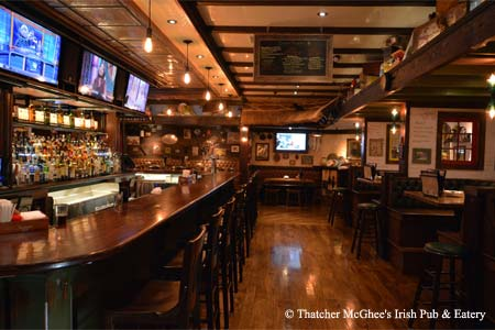 Thatcher McGhee's Irish Pub & Eatery is one of the best places to celebrate St. Patrick's Day in New Jersey