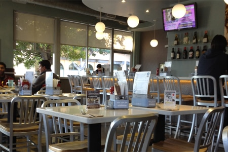 Dining Room at The Counter, Santa Monica, CA