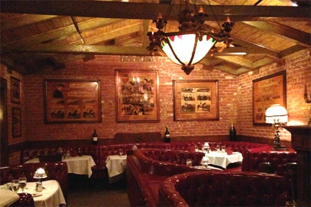 Dining Room at The Derby, Arcadia, CA