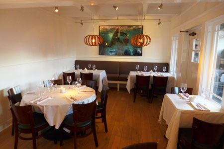 Dining Room at The Larchmont, Los Angeles, CA