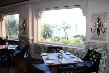 Dining Room at THE MED, La Jolla, CA