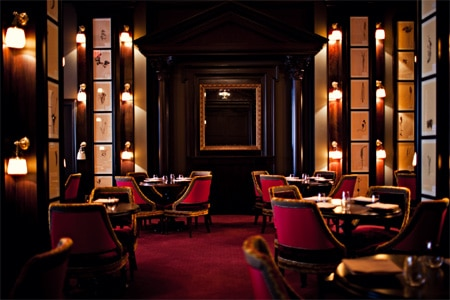 Feast on chicken laden with black truffles and foie gras at The NoMad, one of the Top 10 Hotel Restaurants in the U.S.