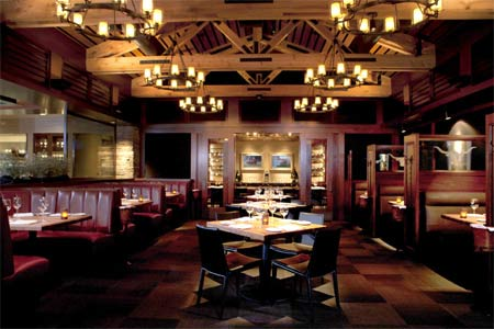 Dining room at The Ranch Restaurant & Saloon, Anaheim, CA