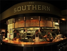 Dining room at The Southern Steak & Oyster, Nashville, TN