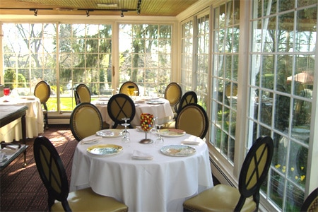 Enjoy French cuisine at chef Thomas Henkelmann's restaurant in Greenwich, CT