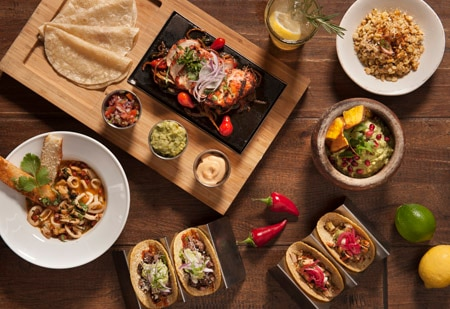 Savor modern Mexican food at Toca Madera, one of GAYOT's Top 10 Mexican Restaurants in Los Angeles