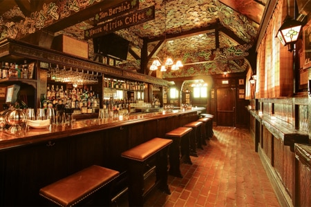 Dining Room at Tom Bergin's Tavern, Los Angeles, CA