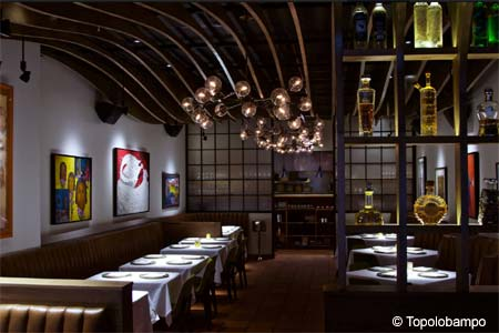 Dining Room at Topolobampo, Chicago, IL