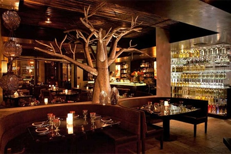 Dining room at Tortilla Republic, West Hollywood, CA
