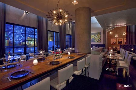 Dining Room at TRACE, Austin, TX