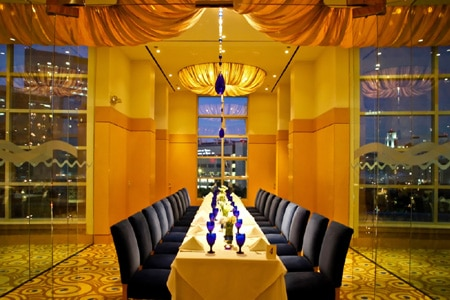 Dining room at Trevisio, Houston, TX