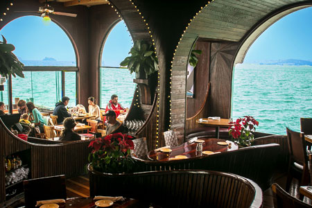 Dining Room at The Trident, Sausalito, CA