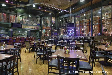 Dining Room at Triple 7 Restaurant & Brewery , Las Vegas, NV
