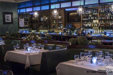 Dining Room at Triple George Grill, Las Vegas, NV