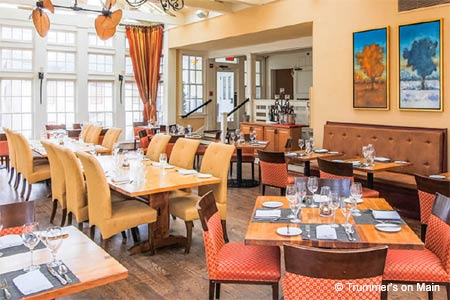 Trummer's on Main, one of GAYOT's Best Brunch Restaurants in Virginia