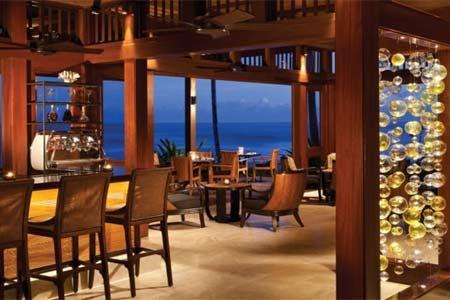 Dining Room at 'ULU Ocean Grill & Sushi Lounge, Kaupulehu Kona, HI