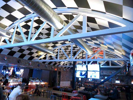 Dining Room at Umami Burger, Beer Garden & Sports Book, Las Vegas, NV