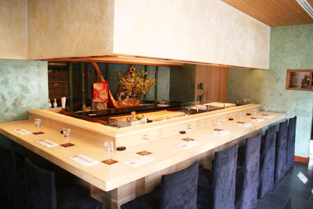 Dining Room at Urasawa, Beverly Hills, CA