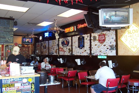Dining Room at Urban Bar-B-Que Company, Rockville, MD