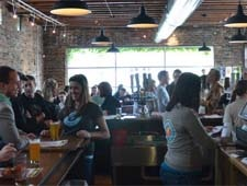 Dining room at Urban Chestnut Brewing Company, St. Louis, MO