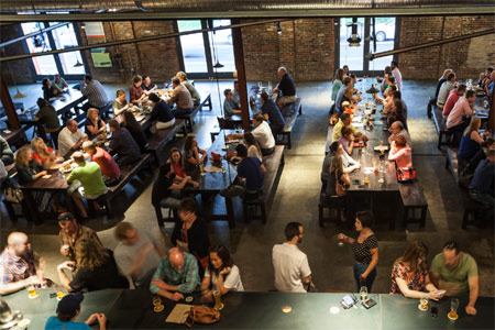 Urban Chestnut Grove Brewery & Bierhall restaurant serves up beer-friendly eats in St. Louis