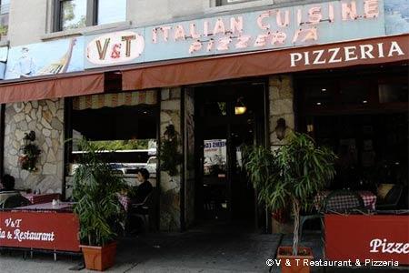 V & T Restaurant & Pizzeria, New York, NY
