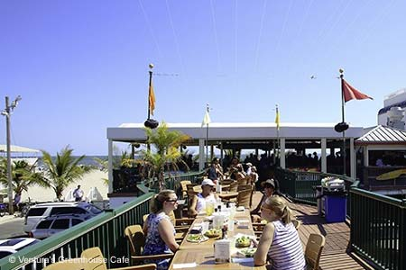 Ventura's Greenhouse Cafe is one of GAYOT's Best Outdoor Dining Restaurants in Atlantic City