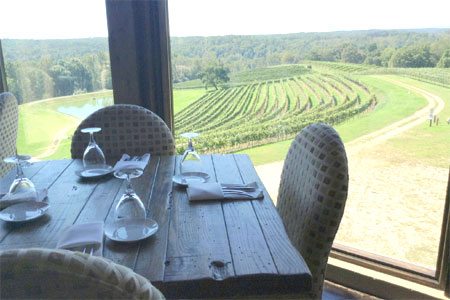Dining Room at Le Vigne at Montaluce, Dahlonega, GA