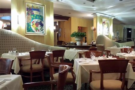 Dining room at Villa Christina, Atlanta, GA
