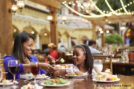 Celebrate Mother's Day with a special brunch at Villa de Flora in Kissimmee, Florida