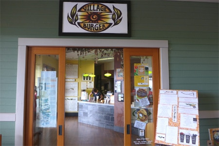 Village Burger, Kamuela, HI