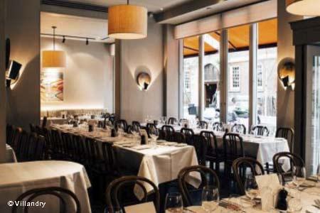 Dining Room at Villandry, London,