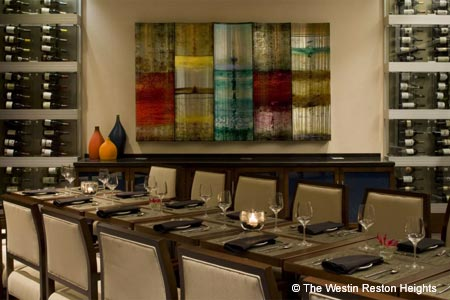 Dining Room at Vinifera Wine Bar & Bistro , Reston, VA