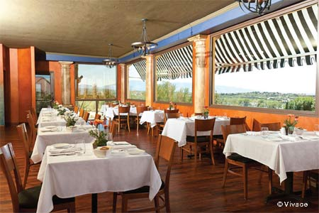 Vivace restaurant in Tucson is appropriate for a romantic dinner or just a get-together with friends